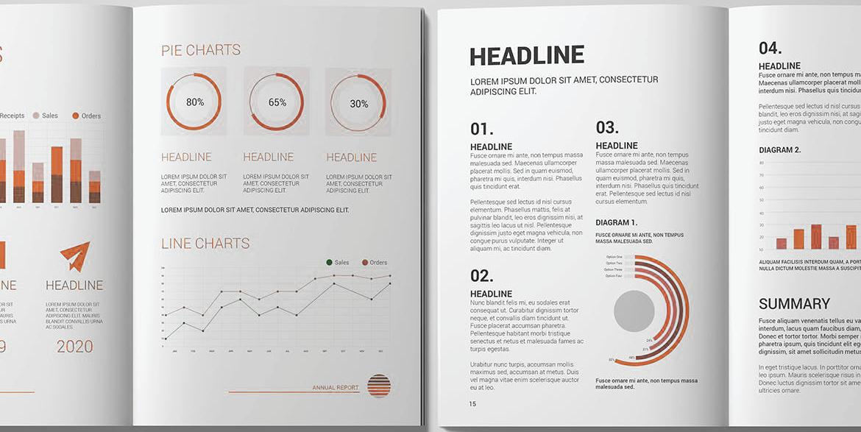 charts data cijfers merk brand boek